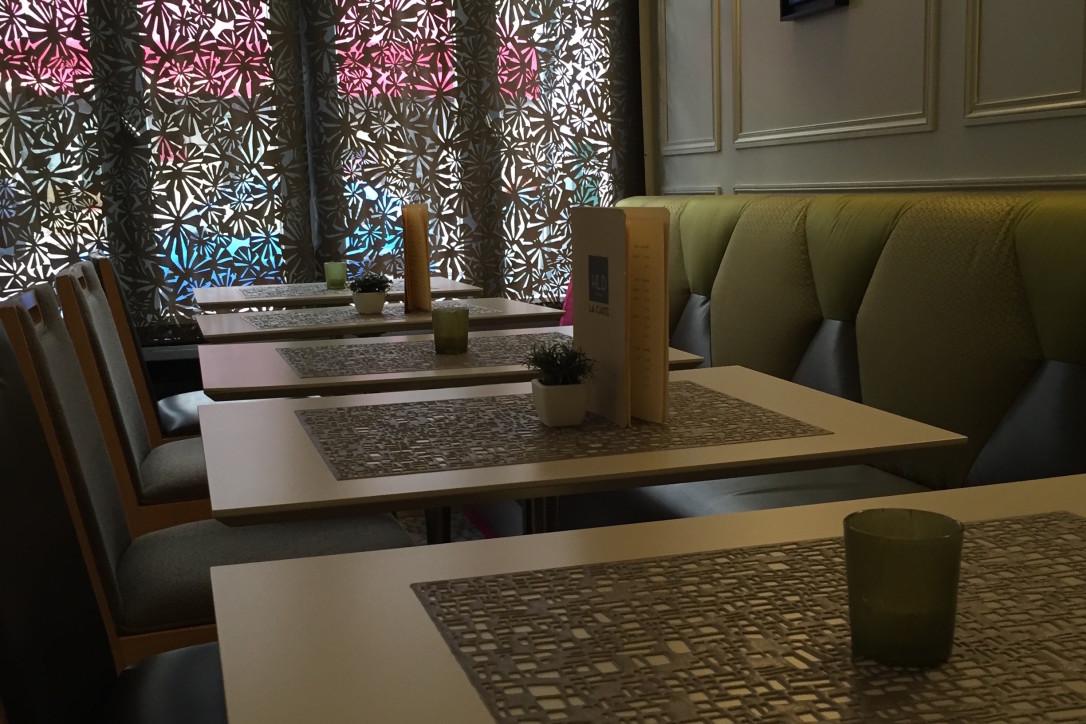 Hotel Le Dauphin Lobby Petits dejeuner
