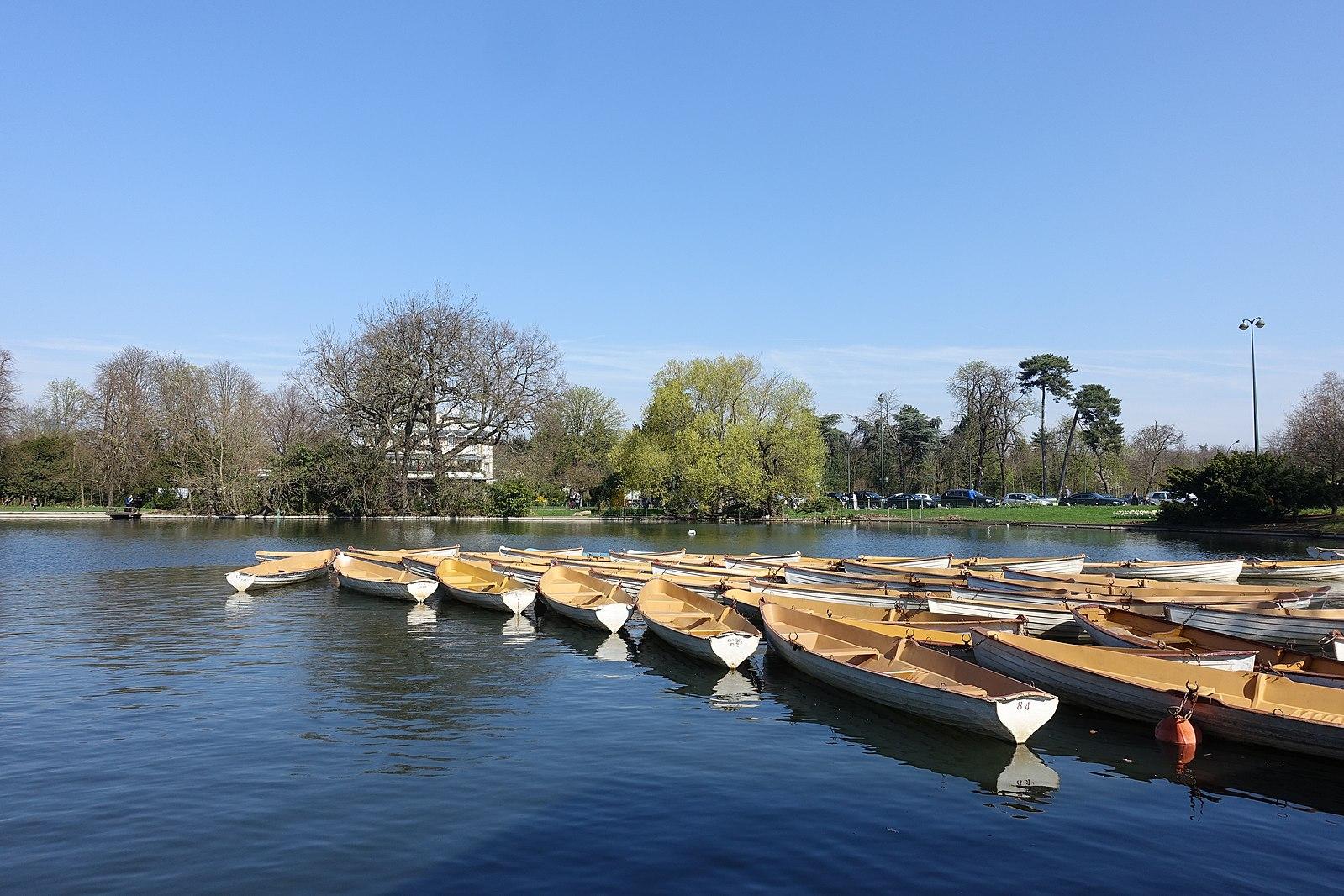 Barques Bois de Boulogne
