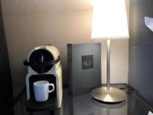 chambre deluxe nespresso