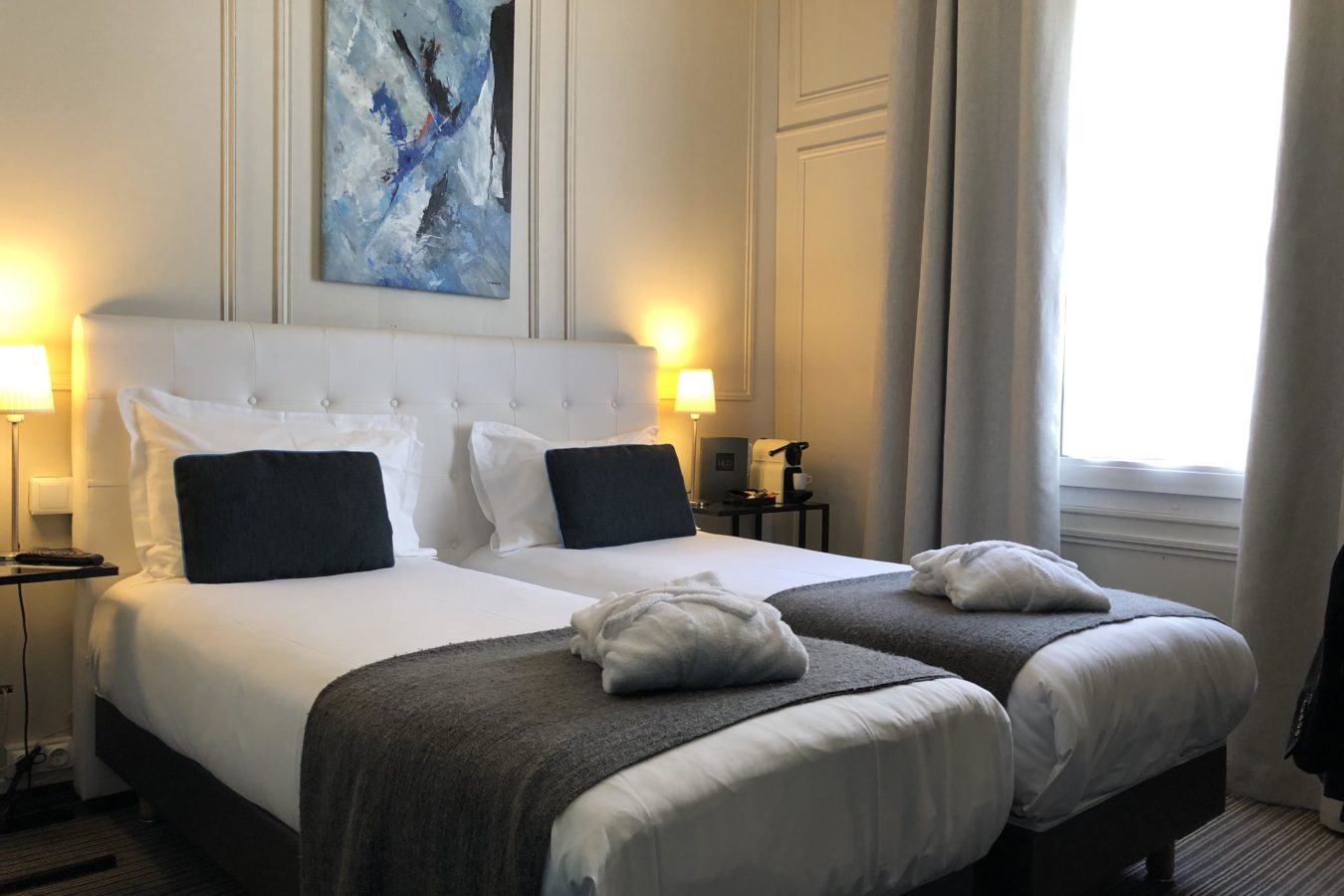 Chambre Deluxe Twin