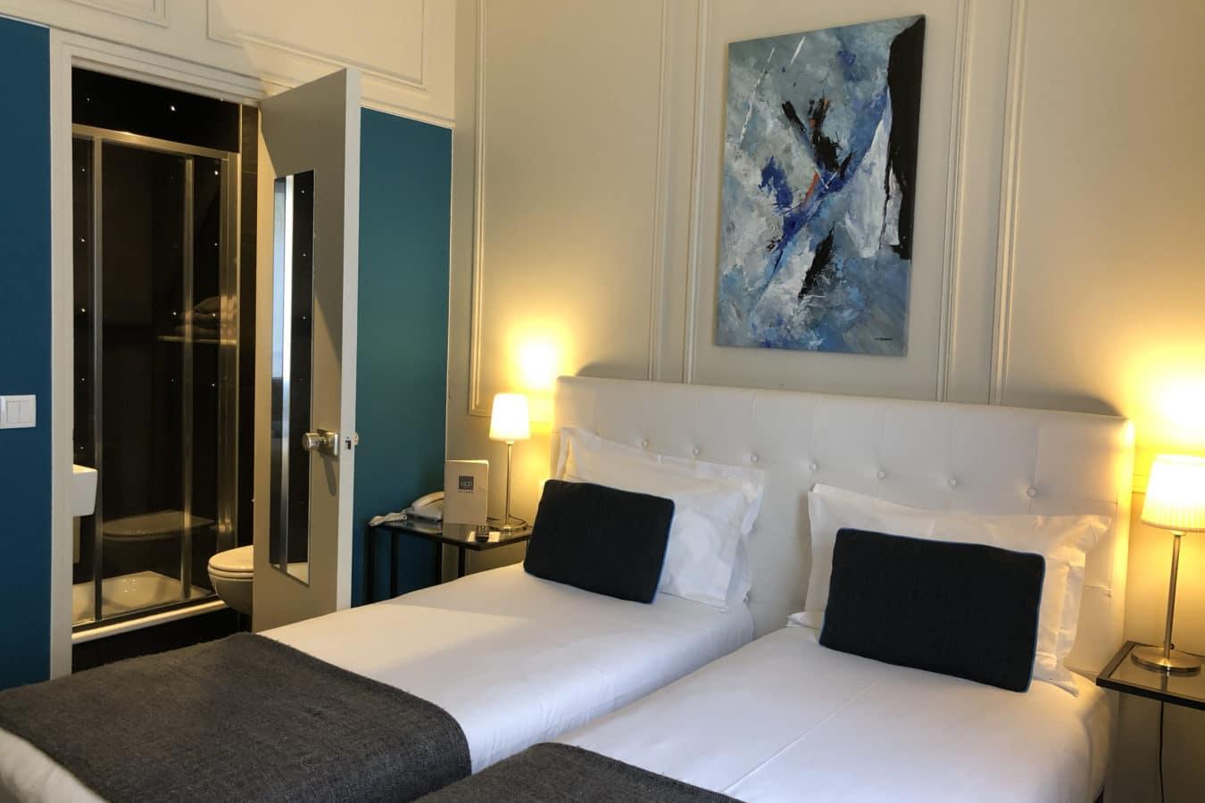 Chambre Classique Twin Hotel Le Dauphin
